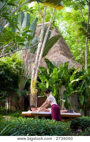 Massage Outdoors