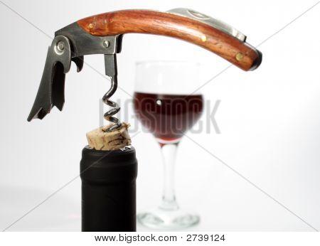 Bottleneck With Corkscrew