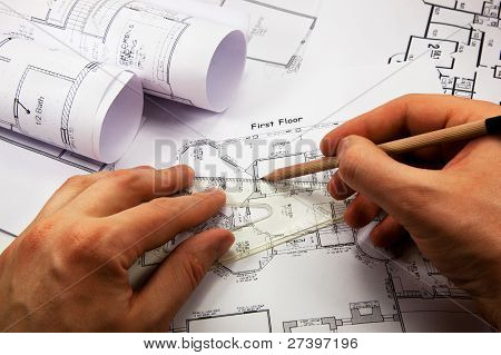 architect is working