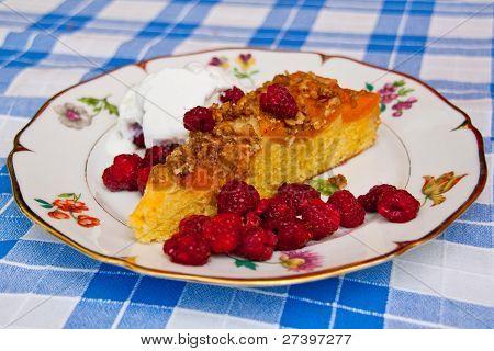 Apricot Cake Dessert