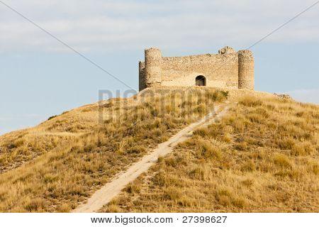 castle near Villar de la Encina, Castile-La Mancha, Spain