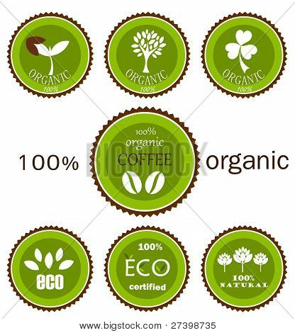 Eco Organic Labels