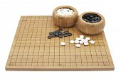 "stock photo of boardgame  - ""GO"" boardgame isolated on white background - JPG"