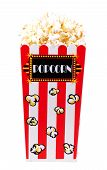 pic of matinee  - isolated popcorn bucket  - JPG