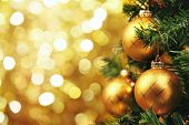 stock photo of christmas party  - Closeup of Christmas - JPG
