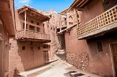foto of zoroaster  - Ancient building in zoroastrian village Abyaneh - JPG