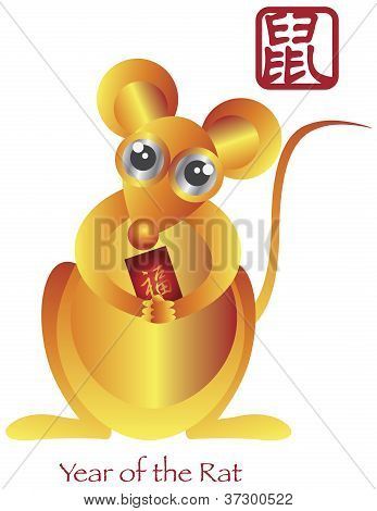Chinese New Year Of The Rat Zodiac