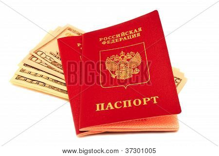 Russian Passports And American Currency