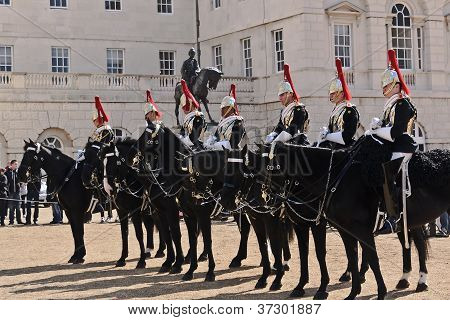 Horse Guard of Queen Elizabeth
