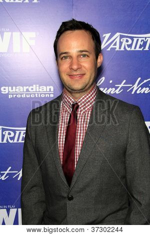 LOS ANGELES - SEP 21:  Danny Strong arrives at the Variety and Women in Film Pre-Emmy Event at Scarpetta on September 21, 2012 in Beverly Hills, CA