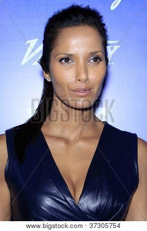 LOS ANGELES - SEP 21:  Padma Lakshmi arrives at the Variety and Women in Film Pre-Emmy Event at Scarpetta on September 21, 2012 in Beverly Hills, CA