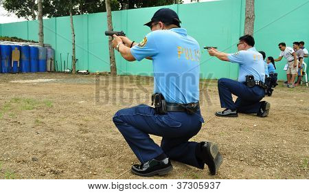 Firearm shooting practice