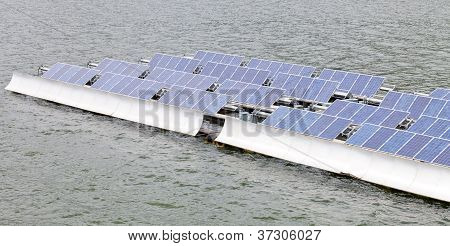 Floating Solar Energy Panels