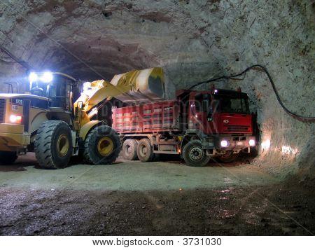 Trabajo de la mina