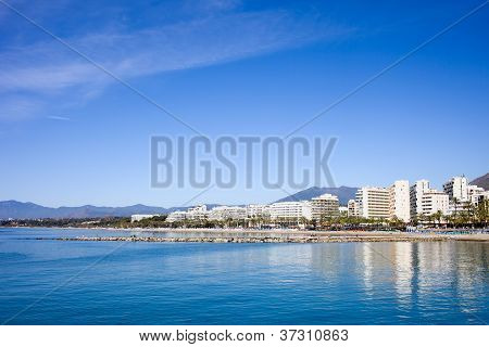 Marbella Skyline In Spain
