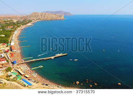 Beach Of Sudak