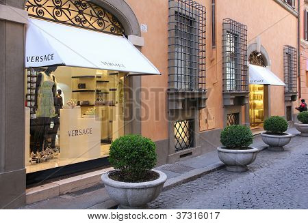 Versace In Rome, Italy