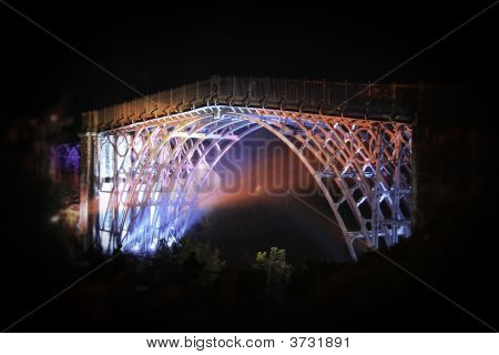 Ironbridge Olympiads Light Show