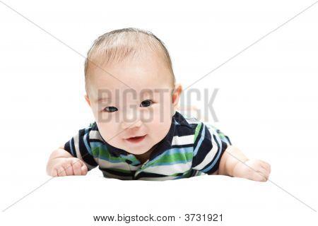 Cute Asian Baby Boy