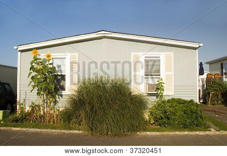 Mobile Homes In Trailer Park Condominium Oceanfront In Montauk Long Island New York The Atlantic Oce