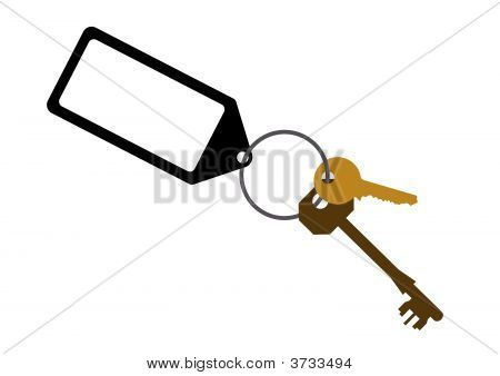 Door Key Illustration