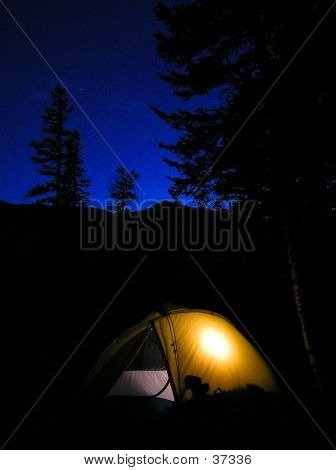 Glowing Tent