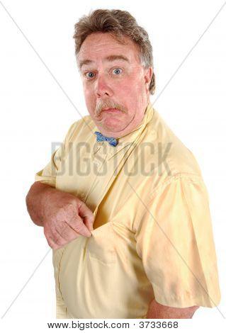 Confused Bowtie Man