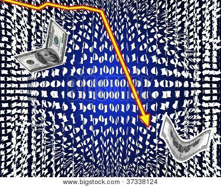 Crash of stock markets