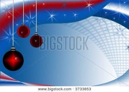 Red White And Blue Christmas Ornaments