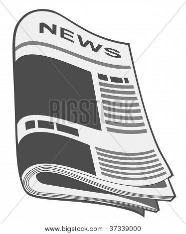 Newspaper Vector. Illustration