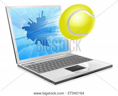 Tennis Laptop Concept