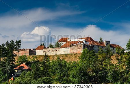Citadel Of Brasov. Romania, Transylvania.