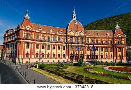 Brasov, Neobaroque Administration Palace. Romania
