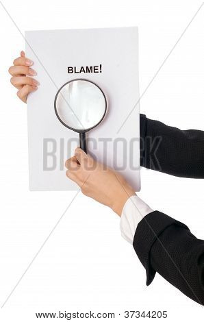 recognized blame