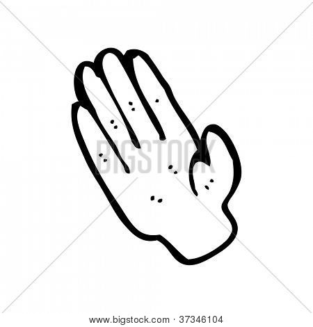 hand cartoon
