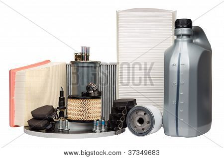 Various Automotive Spare Parts