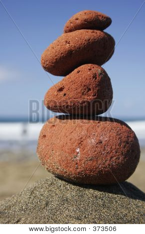 Red Stone Stack