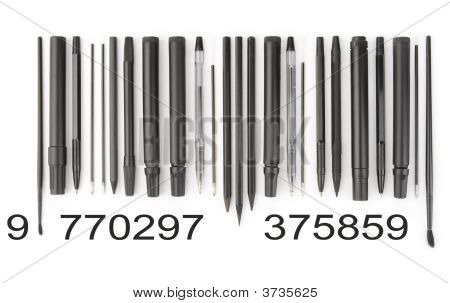 Writing Tools Barcode