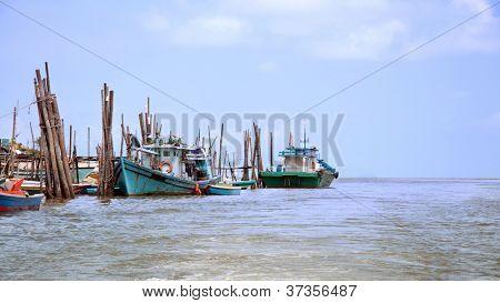 Traditional fishing village, penang, malaysia