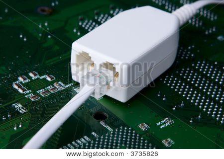 Concepto de conexión de Internet