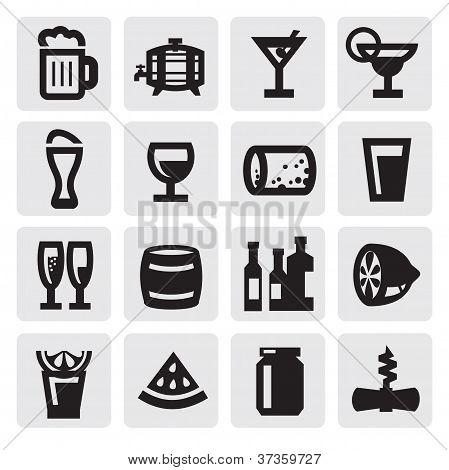 dranken pictogrammen