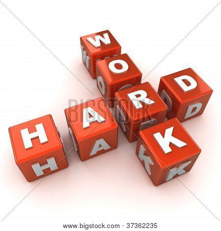 Hard Work Concept