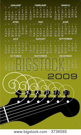 Music, Guitar Calendar