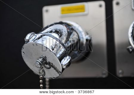 Chrome Water Outlet
