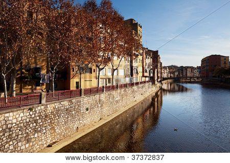 Gerona city in Spain