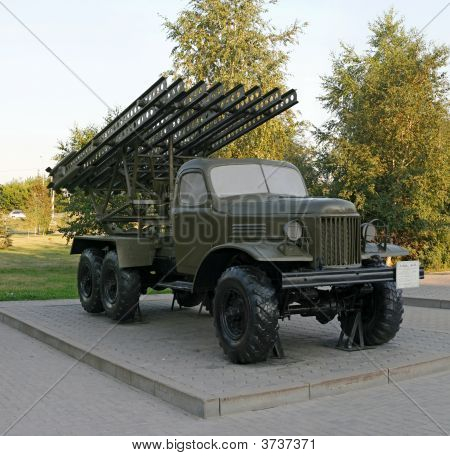 Katyusha Rocket Launcher