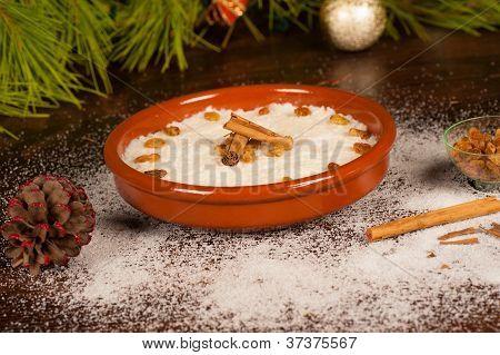Sobremesa de Natal tropical
