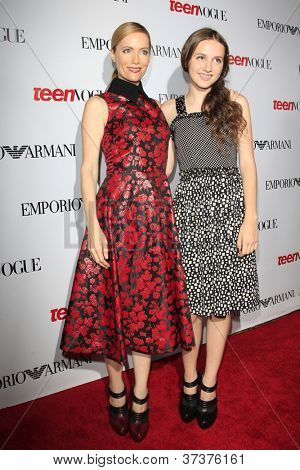 BEVERLY HILLS - SEP 27:  Leslie Mann, Maude Apatow at the Teen Vogue's 10th Anniversary Annual Young Hollywood Party on September 27, 2012 in Beverly Hills, California