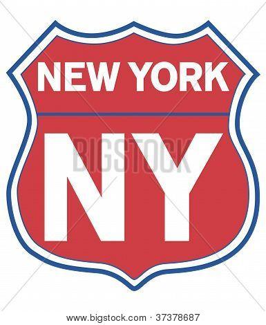 New York Road Shield