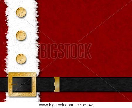 Santa Coat Background